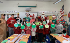 FBLA Spreads Cheer, Cards, and Crafts to Children