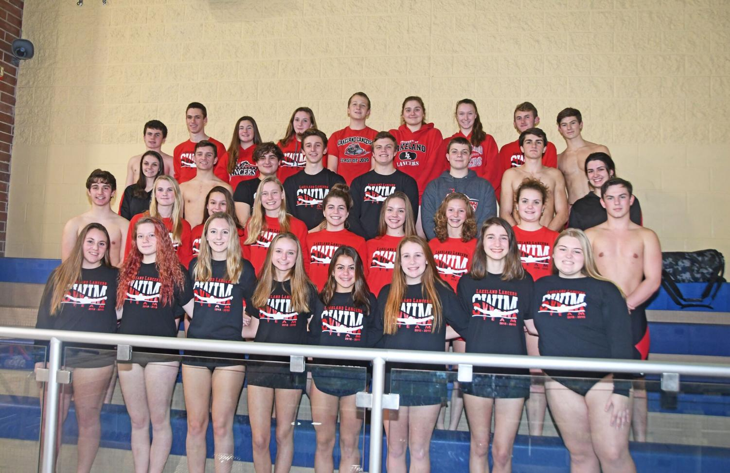 Lakeland's swim team had a successful second year.