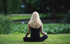 Meditation is one effective way to combat stress.