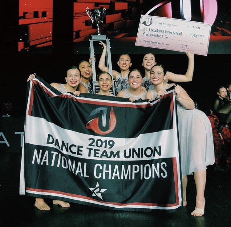 Lakeland's dance team brought home a national championship from Orlando.