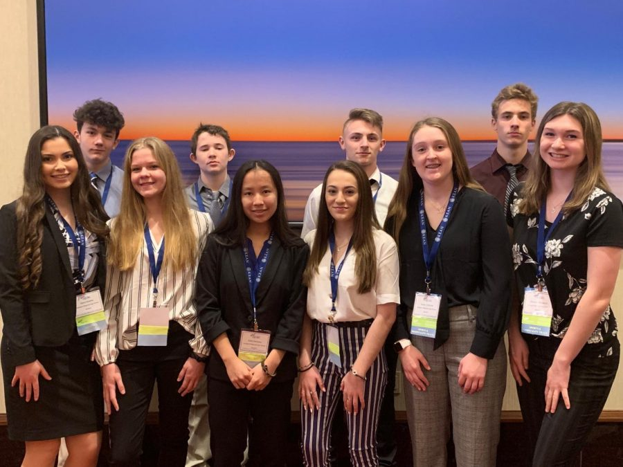 Students from Lakeland FBLA chapter attended and competed at the State Leadership Conference.