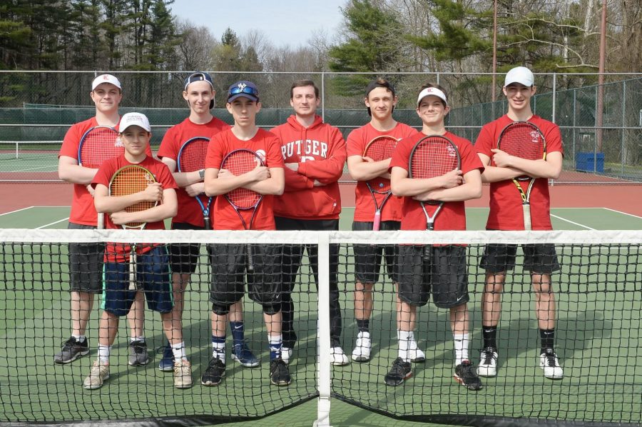 Through a season of ups-and-downs, the boys varsity tennis team walked away with a successful season.