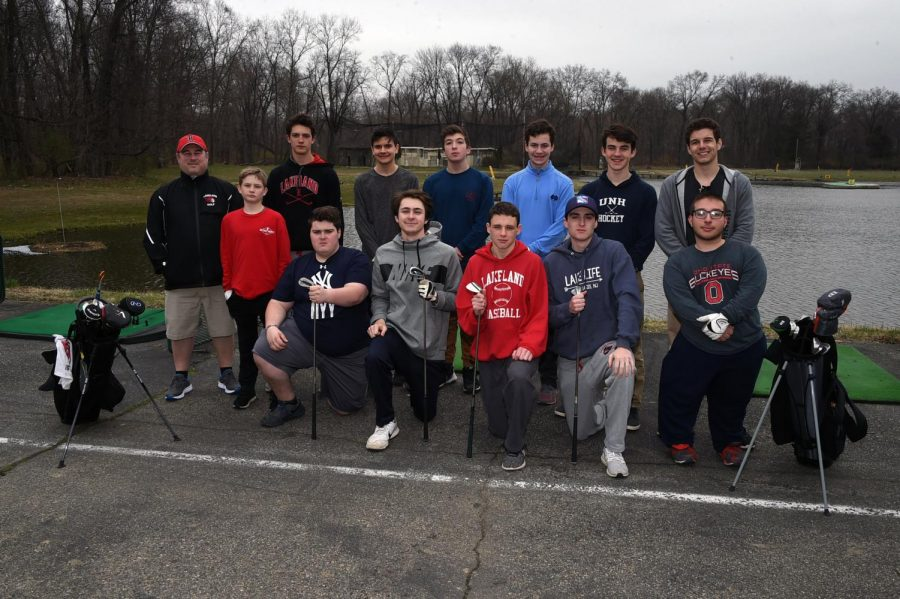 The golf team worked hard and set goals for the 2019 season.