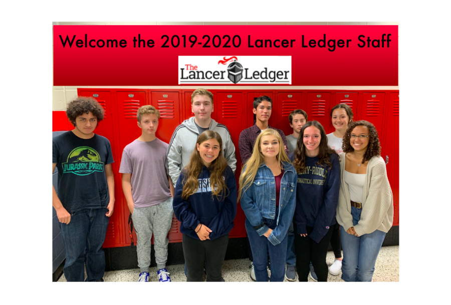 The Lancer Ledger is happy to introduce our 2019-2020 staff.