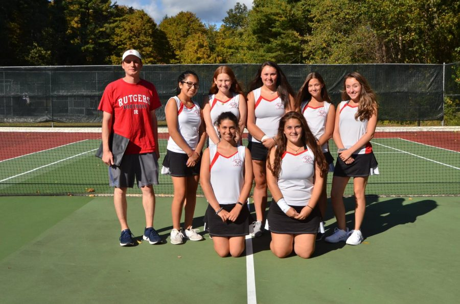 The tennis team had a year of growth and is looking forward to what next year will bring.