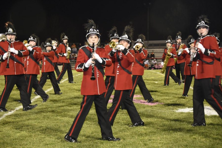 The Lakeland band and color guard had an amazing season that instilled