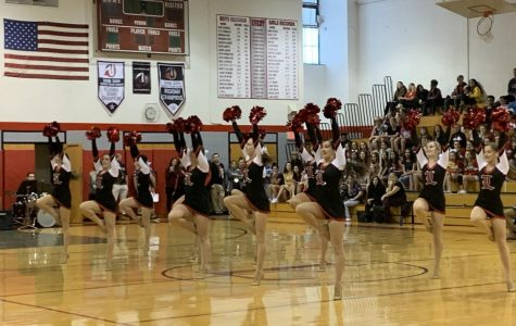The Lakeland Dance Team gave a phenomenal pom performance at the Winter Pep Rally on January 24, 2020.