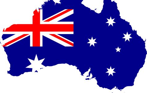 The country of Australia and its nation's flag.