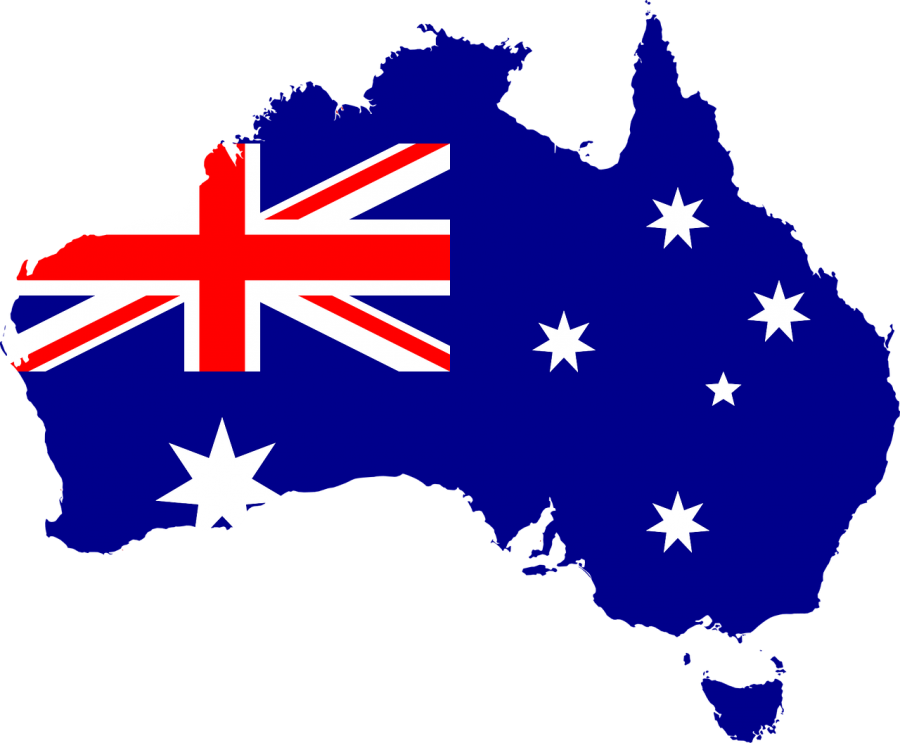 The+country+of+Australia+and+its+nation%27s+flag.