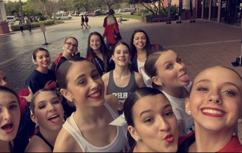 Lakeland Dance Team having a day of fun in Orlando!