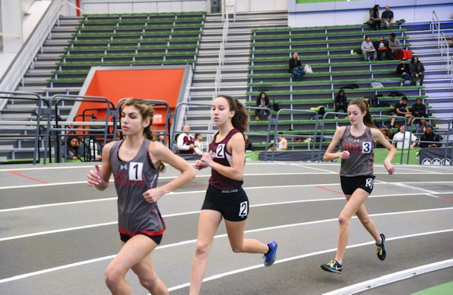 Perez finished first and Horevay finished second in the 3200 meter in the conference, counties, and state sectionals.