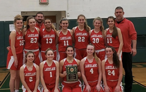 Lakeland girls varsity basketball team