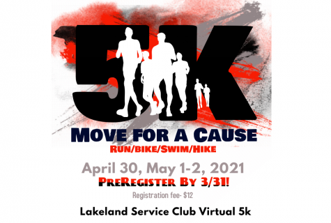 Move For A Cause: Service's Club Upcoming Virtual 5K