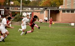 The boys varsity soccer team had a strong season, despite COVID set backs.