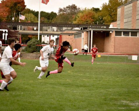 The boys varsity soccer team had a strong season, despite COVID set backs.