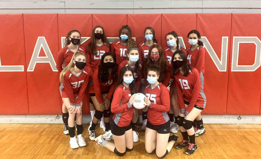 A look at the 2021 varsity girls volleyball team.