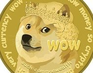 """The meme has become reality with the now beloved """"WOW"""" inscribed Dogecoin cryptocurrency as it is truly going to the moon."""