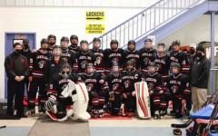 The LRHS varsity hockey team had a strong season, despite the pandemic.